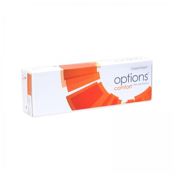 Options Comfort 1 Day multifocal